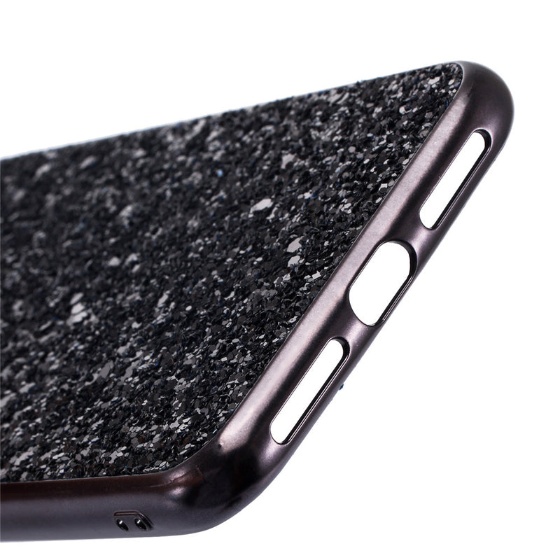 Bling Glitter Plating Phone Case for iPhone XS, MAX, XR, X Shimmering Powder back cover for iPhone 8, 7 Plus
