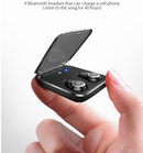Bluetooth Headset Wireless Mini Invisible In-ear Binaural Earplugs.