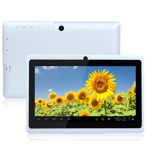 Factory wholesale 7 inch quad core tablet PC Q88H whole ambition A33 Android 4.4wifi online Bluetooth business