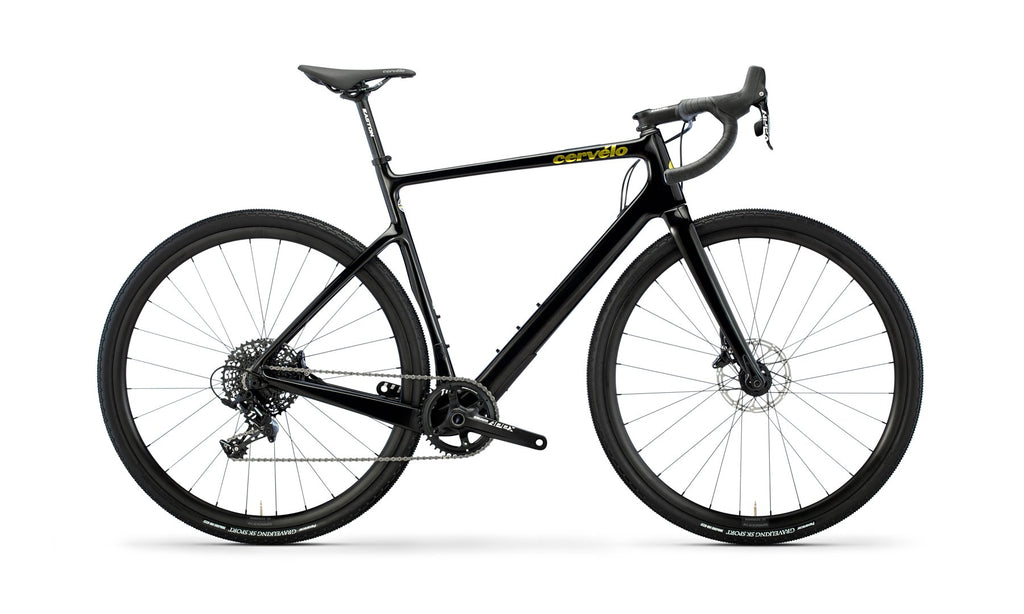 Cervélo Áspero Apex 1 2021 Black/Gold