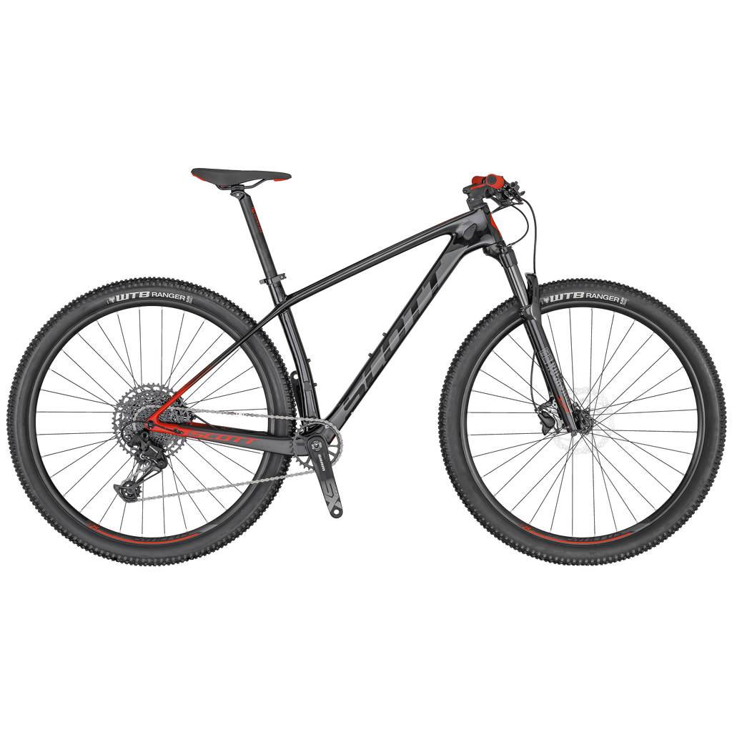 SCOTT SCALE 940 BLACK/RED BIKE 2020