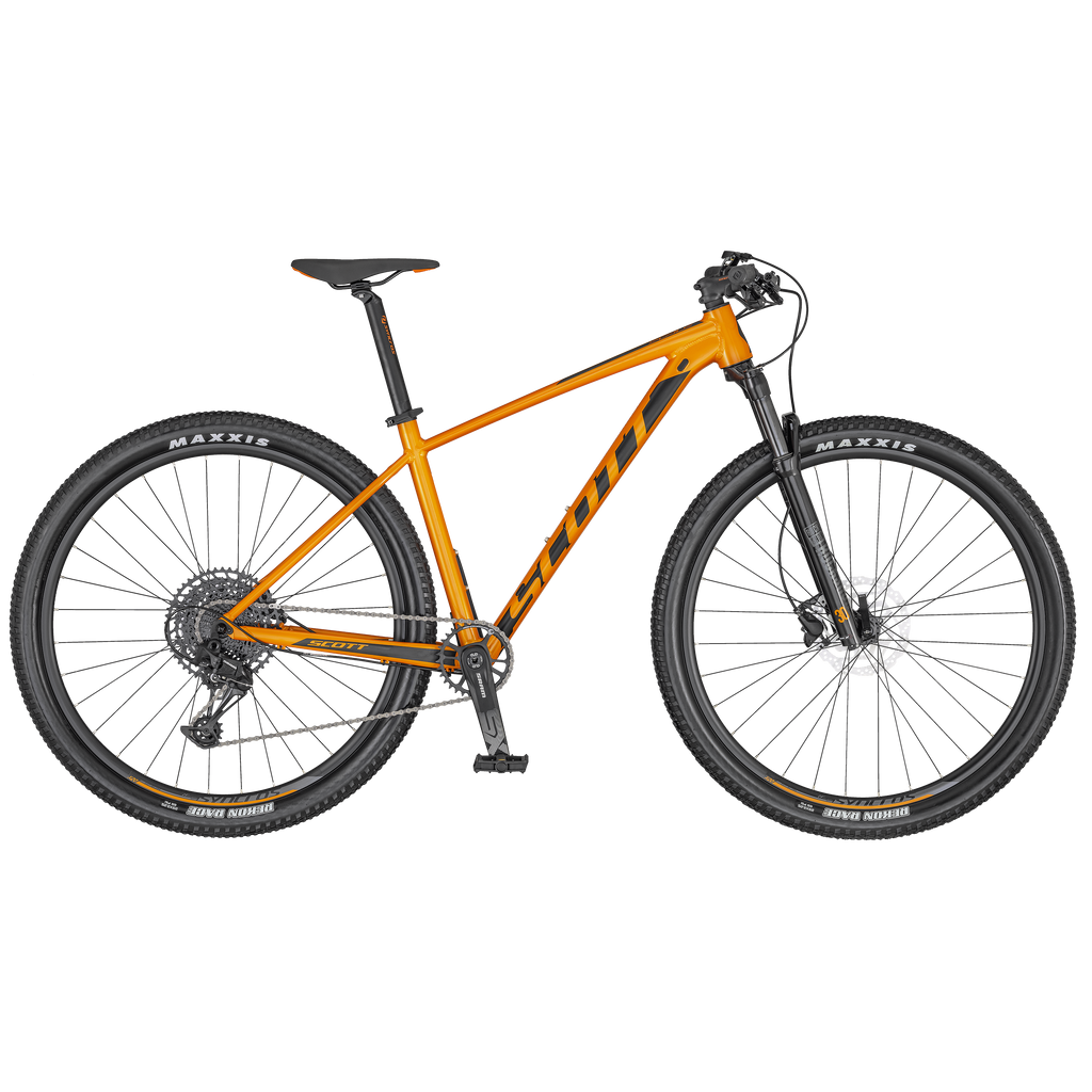 SCOTT SCALE 970 ORANGE/BLACK BIKE 2020