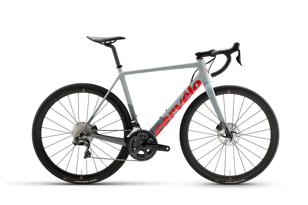 Cervélo R-Series Disc Ultegra Di2 2021 Grey/Red