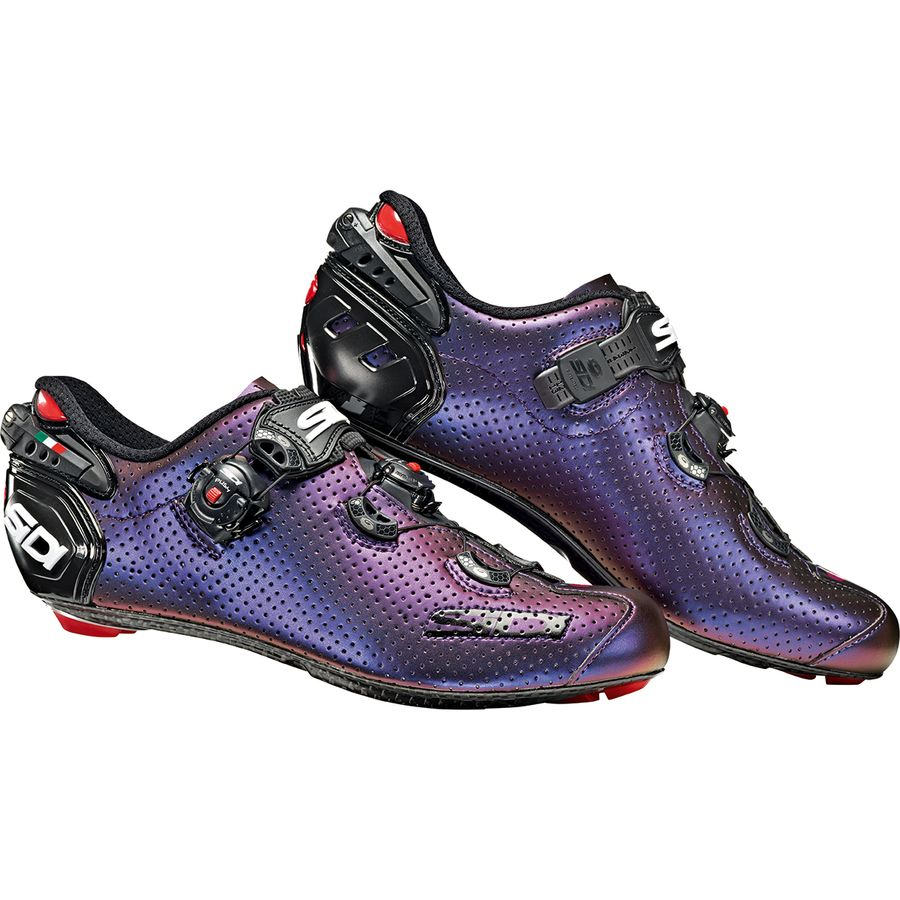 Sidi Wire 2 Carbon Air Limited Blue/Red Iridescent
