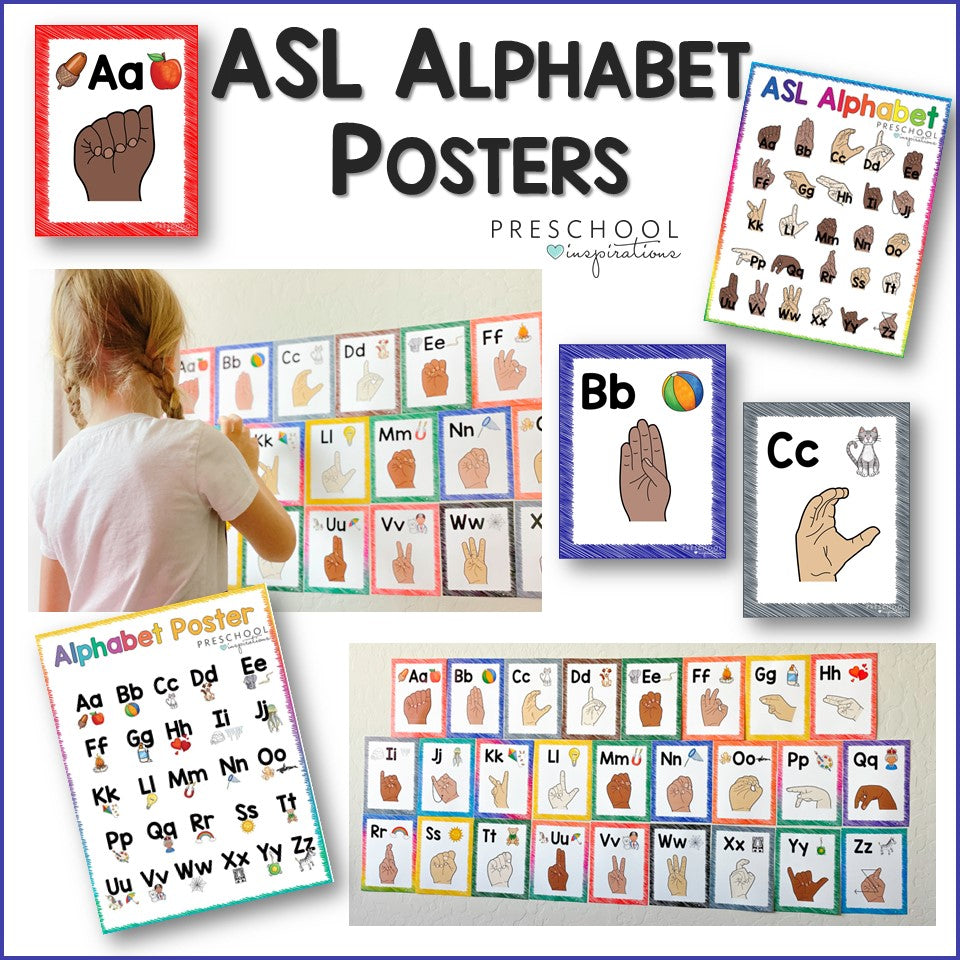 ASL Alphabet Posters