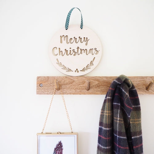 Merry Christmas Wall Hanging