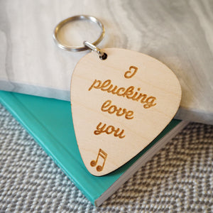 Double Pick Keyring