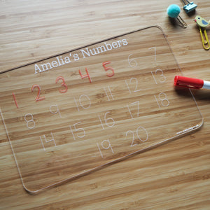 Personalised Tracing Board Set - 3 Boards