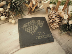 Game Of Thrones 'Beer / Gin / Wine / Tea / Coffee Is Coming' Coaster