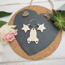 Load image into Gallery viewer, Personalised To The Moon Keyring Present Gift Mother's Day Valentine's