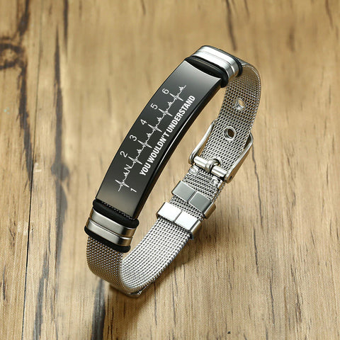 stainless steel bracelet for your man