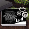 Compass Keychain - To My Granddaughter - I Can't Promise To Be Here For The Rest Of Your Life - Gkw23001