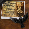 Dark Raven Necklace - My Viking Girlfriend -My Fire And My Rain- Gncm13007