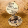 Engraved Compass - My Love - I Followed My Heart And It Led Me Straight To You - Gpb26076