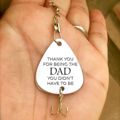 Engraved Fishing Hook - To Dad - From Son - Thank You For Being The Dad - Gfa18004