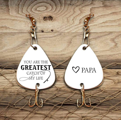 Engraved Fishing Hook - To My Grandson - You Are The Greatest Catch Of My Life - Gfa22001