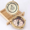 Freemason Engraved Compass - Let Be The Light - Gpb34006