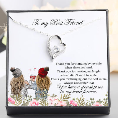Heart Necklace - To My Best Friend - Special Place In My Heart Forever - Gnr33001