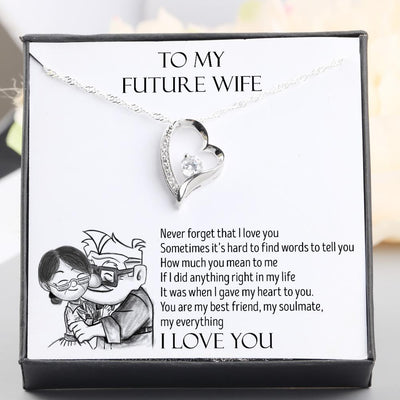 Heart Necklace - To My Future Wife - You Are My Everything - Gnr25006