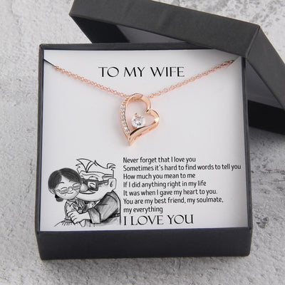 Heart Necklace - To My Wife - You Are My Everything - Gnr15005