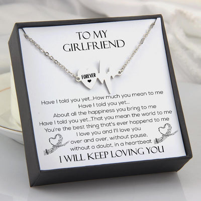 Heartbeat Necklace - To My Girlfriend - Have I Told You Yet - Gnm13011