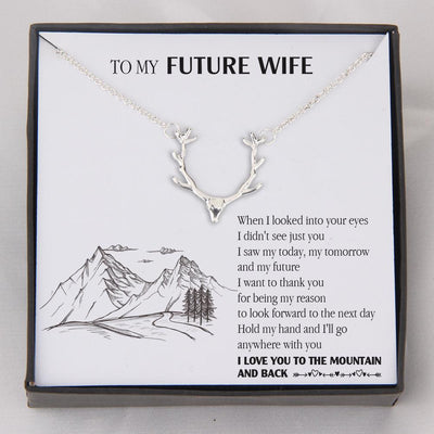 Hunter Necklace - To My Future Wife - When I Looked Into Your Eyes - Gnt25009