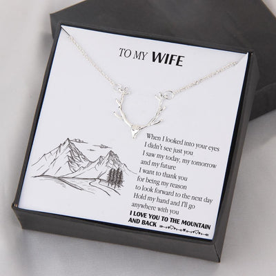Hunter Necklace - To My Wife - When I Looked Into Your Eyes - Gnt15009