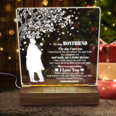 Led Light - To My Boyfriend - I Want All Of My Lasts To Be With You - Sjg12002