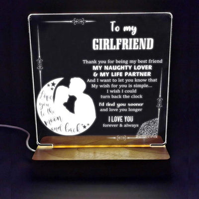 Led Light - To My Girlfriend - I Wish I Could Turn Back The Clock - Sjg13005