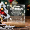 Led Light - To My Husband - I Will Love You Forever & Always - Sjg14005