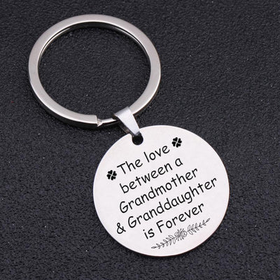 Round Keychain - To My Granddaughter - The Love Between - Gki23001