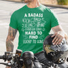 T-Shirt - Biker - To Man - Lucky To Have - Tsa26003