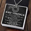 Viking Rune Necklace - My Viking - I Love You To Valhalla And Back - Gndy26001