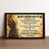 Wall Art Framed Art Print - To My Viking Queen - I Love You To Valhalla And Back - Sjk13001