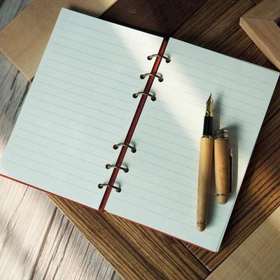 Wooden Notebook - To My Girlfriend - My Love For You Will Never Be Changed - Gdb13003