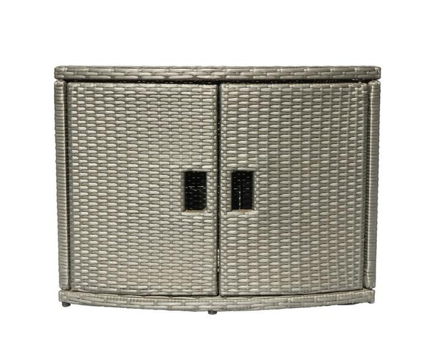 Mueble Rattan Cabinet