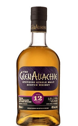 The Glen Allachie Speyside Single Malt Scotch Whisky Aged 12 Years