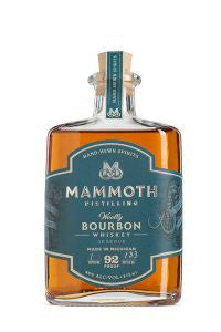 Mammoth Distilling Woolly Bourbon Whiskey 46% ABV 750 ML