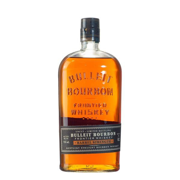 Bulleit Bourbon Barrel Strength, Kentucky Straight Bourbon Whiskey Lot 4 750 ML