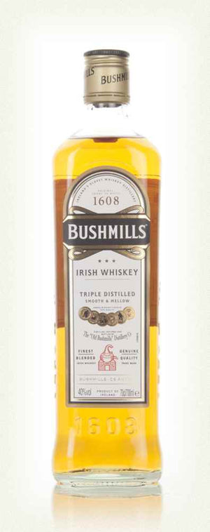 Bushmills Original Triple Distilled Irish Whiskey 40% ABV 750ML