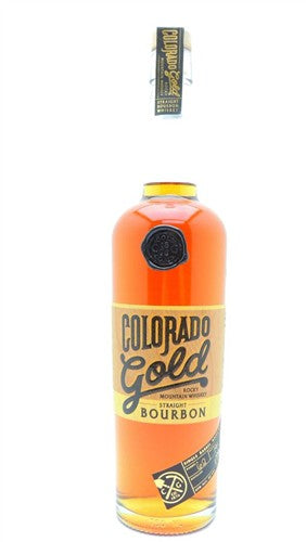 Colorado Gold Straight Bourbon Rocky Mountain Whiskey 90 Proof, 750 ML