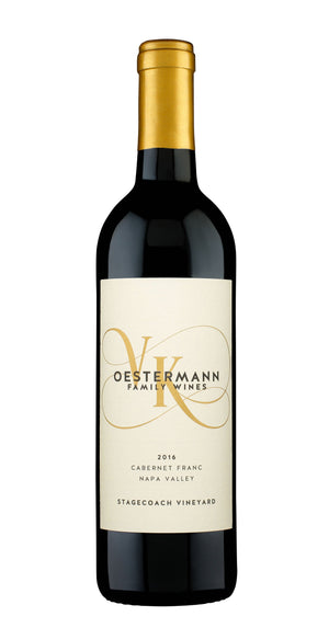 2016 Oestermann Family Wines Cabernet Franc Stagecoach Vineyard