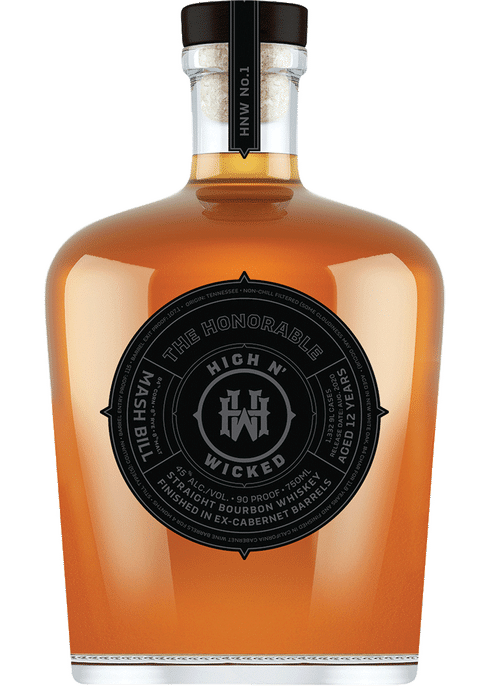 High N' Wicked The Honorable 12 Year, Straight Bourbon Whiskey