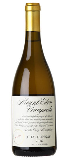 2016 Mount Eden Chardonnay Estate, Santa Cruz Mountains