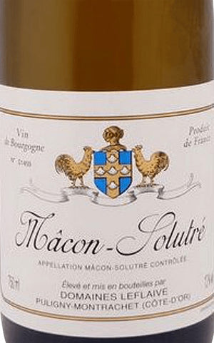 2017 Domaine Leflaive Macon Solutre