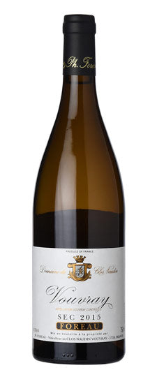 2015 Philippe Foreau Domaine du Clos Naudin Vouvray Moelleux