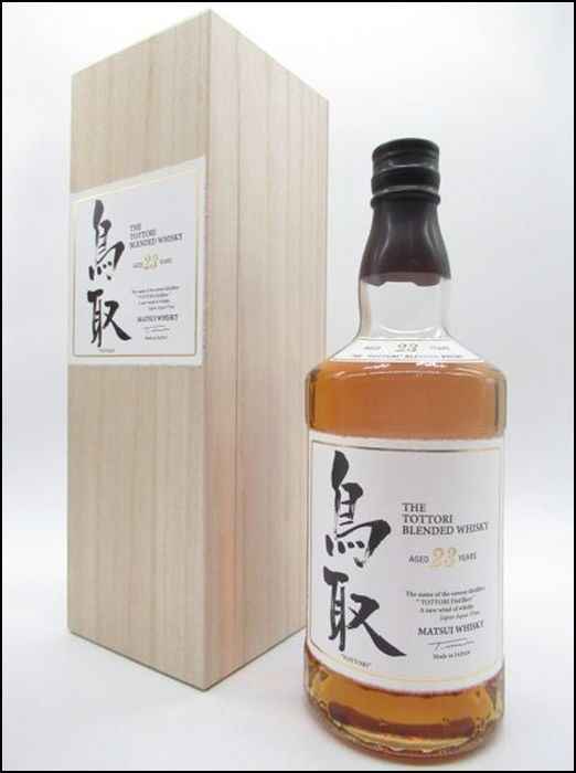The Tottori Japanese Whisky 23 Year 750ML