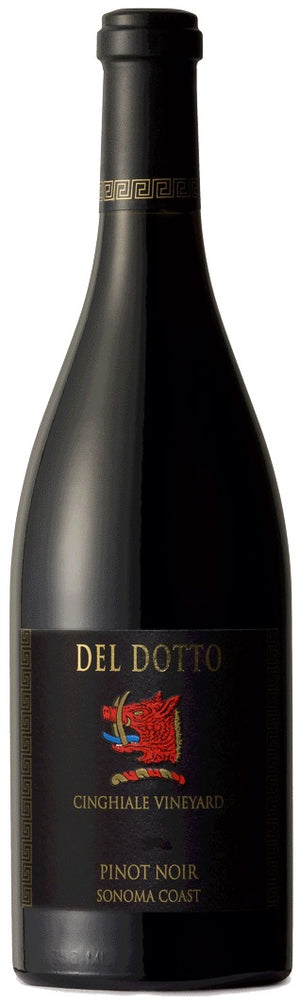 2016 Del Dotto Pinot Noir Cinghale Vineyard, Fort Ross Seaview, Sonoma Coast