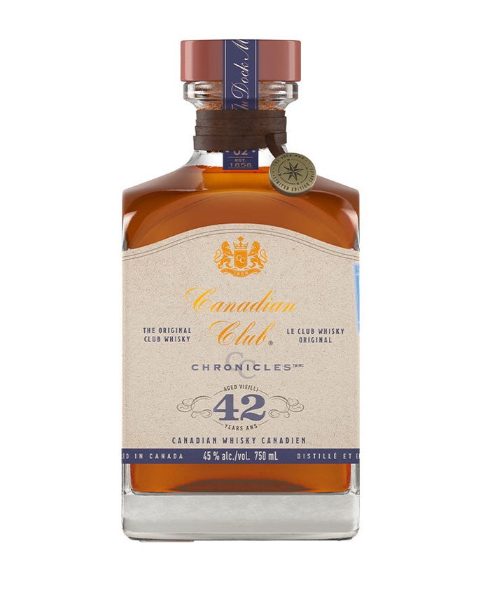 Canadian Club Blended Whisky Chronicles 42 Year Old The Dock Man 750ml