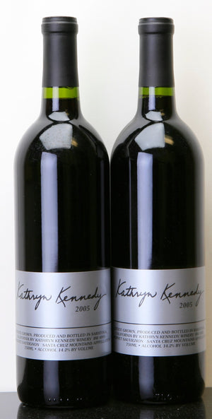 2015 Kathryn Kennedy Winery Estate Cabernet Sauvignon